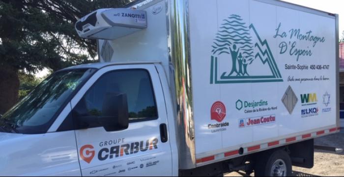 La Montagne d'Espoir | Organisme de charité qui offre de l'aide alimentaire, dépannage d'urgence ainsi qu'un comptoir d'entraide.